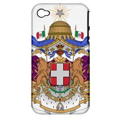 Greater Coat of Arms of Italy, 1870-1890  Apple iPhone 4/4S Hardshell Case (PC+Silicone)