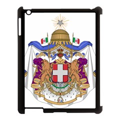 Greater Coat of Arms of Italy, 1870-1890  Apple iPad 3/4 Case (Black)