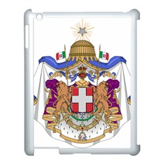 Greater Coat of Arms of Italy, 1870-1890  Apple iPad 3/4 Case (White)
