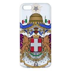 Greater Coat of Arms of Italy, 1870-1890  Apple iPhone 5 Premium Hardshell Case