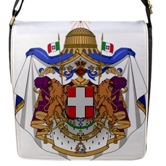 Greater Coat of Arms of Italy, 1870-1890  Flap Messenger Bag (S)