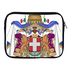 Greater Coat of Arms of Italy, 1870-1890  Apple iPad 2/3/4 Zipper Cases