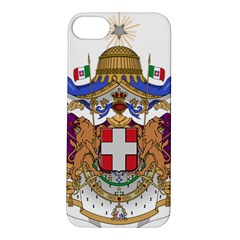 Greater Coat of Arms of Italy, 1870-1890  Apple iPhone 5S/ SE Hardshell Case
