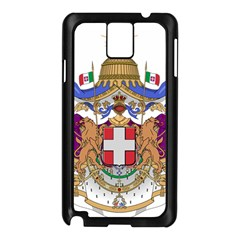 Greater Coat of Arms of Italy, 1870-1890  Samsung Galaxy Note 3 N9005 Case (Black)