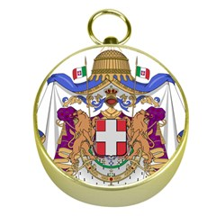 Greater Coat of Arms of Italy, 1870-1890  Gold Compasses