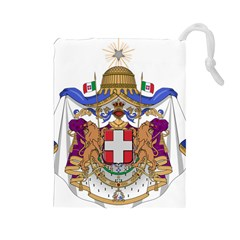 Greater Coat of Arms of Italy, 1870-1890  Drawstring Pouches (Large)