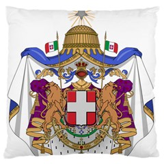 Greater Coat of Arms of Italy, 1870-1890  Large Flano Cushion Case (Two Sides)