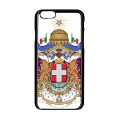 Greater Coat of Arms of Italy, 1870-1890  Apple iPhone 6/6S Black Enamel Case