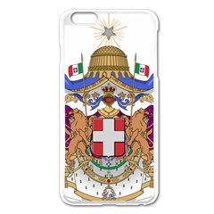 Greater Coat of Arms of Italy, 1870-1890  Apple iPhone 6 Plus/6S Plus Enamel White Case