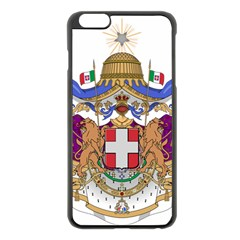 Greater Coat of Arms of Italy, 1870-1890  Apple iPhone 6 Plus/6S Plus Black Enamel Case