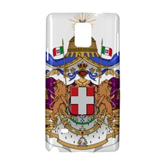 Greater Coat of Arms of Italy, 1870-1890  Samsung Galaxy Note 4 Hardshell Case