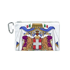 Greater Coat of Arms of Italy, 1870-1890  Canvas Cosmetic Bag (S)
