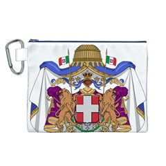Greater Coat of Arms of Italy, 1870-1890  Canvas Cosmetic Bag (L)