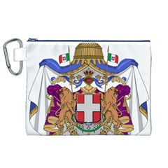 Greater Coat of Arms of Italy, 1870-1890  Canvas Cosmetic Bag (XL)