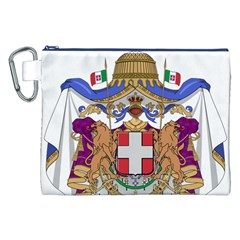 Greater Coat of Arms of Italy, 1870-1890  Canvas Cosmetic Bag (XXL)