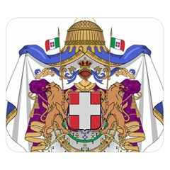 Greater Coat of Arms of Italy, 1870-1890  Double Sided Flano Blanket (Small)