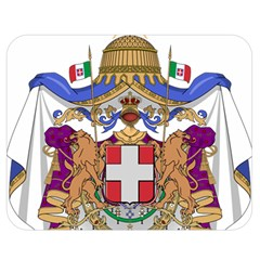 Greater Coat of Arms of Italy, 1870-1890  Double Sided Flano Blanket (Medium)