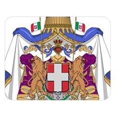 Greater Coat of Arms of Italy, 1870-1890  Double Sided Flano Blanket (Large)