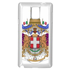 Greater Coat of Arms of Italy, 1870-1890  Samsung Galaxy Note 4 Case (White)