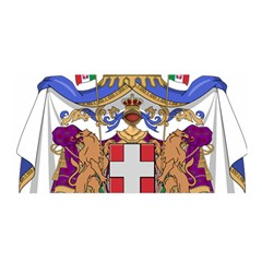 Greater Coat of Arms of Italy, 1870-1890  Satin Wrap