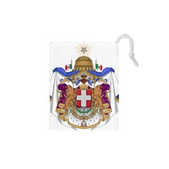 Greater Coat of Arms of Italy, 1870-1890  Drawstring Pouches (XS)