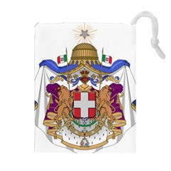 Greater Coat of Arms of Italy, 1870-1890  Drawstring Pouches (Extra Large)
