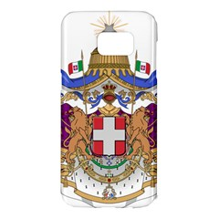 Greater Coat of Arms of Italy, 1870-1890  Samsung Galaxy S7 Edge Hardshell Case