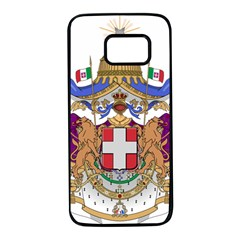 Greater Coat Of Arms Of Italy, 1870 1890  Samsung Galaxy S7 Black Seamless Case