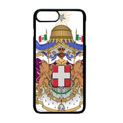 Greater Coat of Arms of Italy, 1870-1890  Apple iPhone 7 Plus Seamless Case (Black)