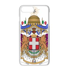 Greater Coat of Arms of Italy, 1870-1890  Apple iPhone 7 Plus White Seamless Case