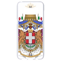 Greater Coat of Arms of Italy, 1870-1890  Samsung Galaxy S8 White Seamless Case