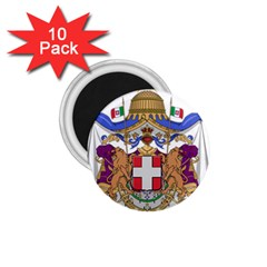 Greater Coat of Arms of Italy, 1870-1890 1.75  Magnets (10 pack)