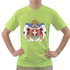 Greater Coat of Arms of Italy, 1870-1890 Green T-Shirt