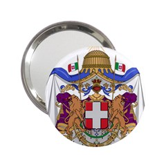 Greater Coat of Arms of Italy, 1870-1890 2.25  Handbag Mirrors