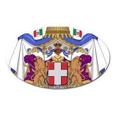 Greater Coat of Arms of Italy, 1870-1890 Oval Magnet