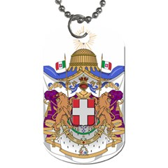 Greater Coat of Arms of Italy, 1870-1890 Dog Tag (Two Sides)