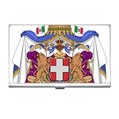 Greater Coat of Arms of Italy, 1870-1890 Business Card Holders