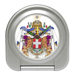 Greater Coat of Arms of Italy, 1870-1890 Travel Alarm Clocks
