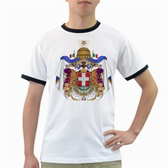 Greater Coat of Arms of Italy, 1870-1890 Ringer T-Shirts