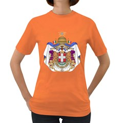 Greater Coat of Arms of Italy, 1870-1890 Women s Dark T-Shirt