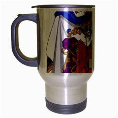 Greater Coat of Arms of Italy, 1870-1890 Travel Mug (Silver Gray)