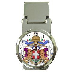 Greater Coat of Arms of Italy, 1870-1890 Money Clip Watches