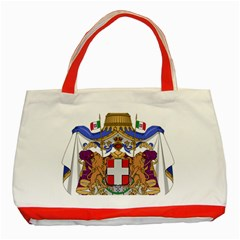 Greater Coat of Arms of Italy, 1870-1890 Classic Tote Bag (Red)