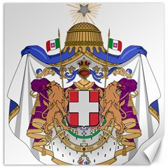 Greater Coat of Arms of Italy, 1870-1890 Canvas 20  x 20