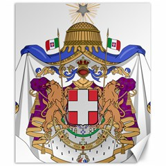 Greater Coat of Arms of Italy, 1870-1890 Canvas 20  x 24