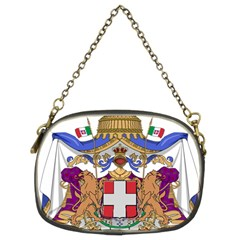 Greater Coat of Arms of Italy, 1870-1890 Chain Purses (Two Sides)