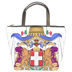 Greater Coat of Arms of Italy, 1870-1890 Bucket Bags