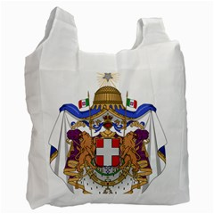 Greater Coat of Arms of Italy, 1870-1890 Recycle Bag (One Side)
