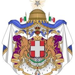 Greater Coat of Arms of Italy, 1870-1890 Magic Photo Cubes