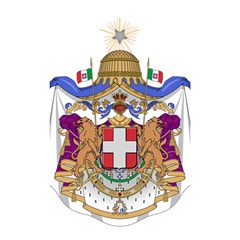 Greater Coat of Arms of Italy, 1870-1890 Shower Curtain 48  x 72  (Small)